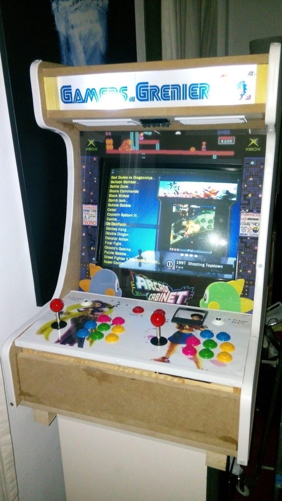 borne arcade xbox